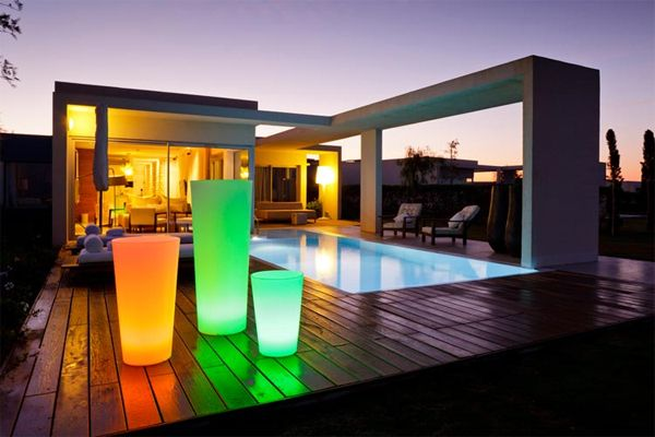 Colonnes lumineuses by SMART & GREEN