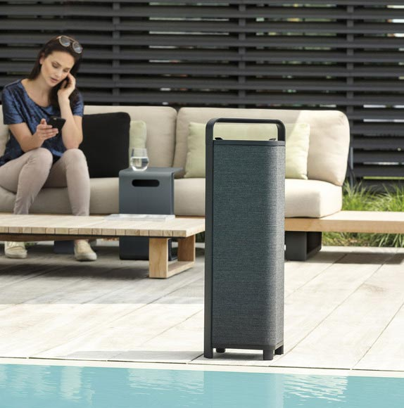 Enceinte bluetooth waterproof2 connectiques by ESCAPE